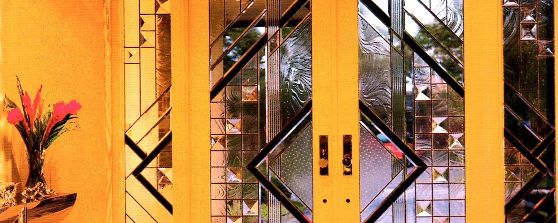 درب لابی شیشه ای
