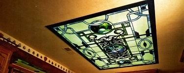 سقف کاذب شیشه ای