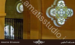 شیشه تزئینی - آماتیس استدیو - amatisstudio