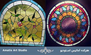 دکوراتیو و شیشه های تزئینی