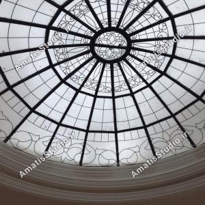 گنبد شیشه ایی عظیمیه در پنت هاوس ساختمان6